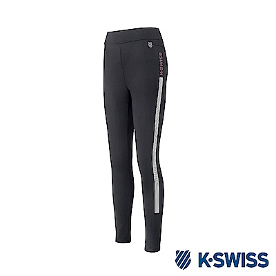 K-Swiss Traning Leggings 運動內搭褲-女-黑