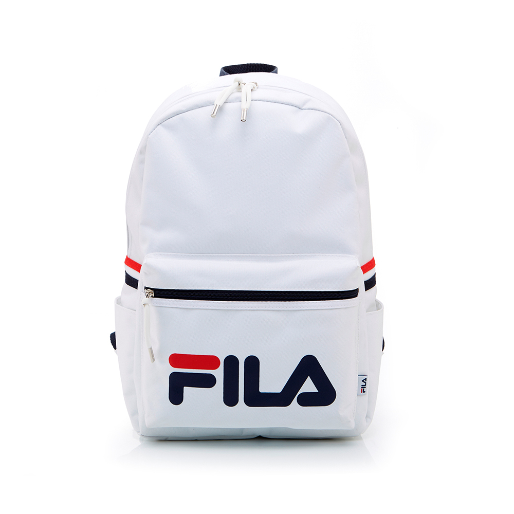 FILA LOGO後背包-白 BPT-1401-WT