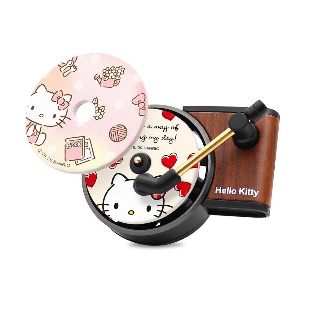 GARMMA Hello Kitty 造型汽車芳香劑 唱片款