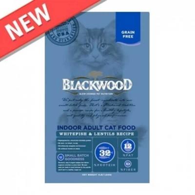 Blackwood柏萊富 極鮮無穀室內成貓配方4lb (白鮭魚+扁豆)