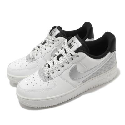 Nike 休閒鞋 Air Force 1 07 SE 女鞋 基本款 AF1 簡約 反光 球鞋 穿搭 白 銀 CT1992100