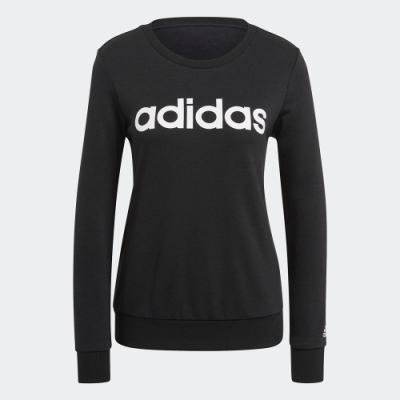 ADIDAS 上衣 長袖上衣 運動 慢跑 健身 女款 黑 GL0718