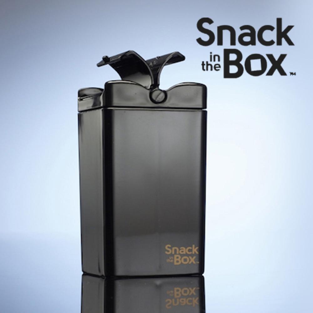 加拿大Snack in the box 兒童零食攜帶盒/分裝盒/點心罐355ml-曜石黑