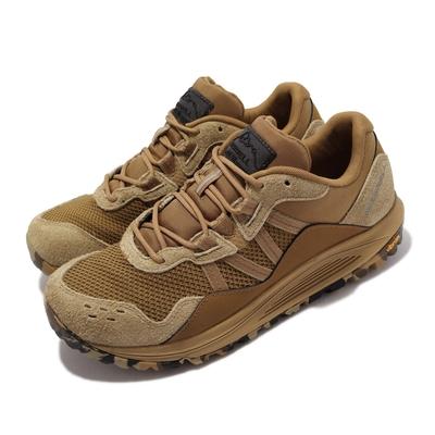 Merrell 戶外鞋 Nova Traveler JPN 男鞋 彈性支撐 避震墊片 耐磨 黃金大底 麂皮 棕 ML066605