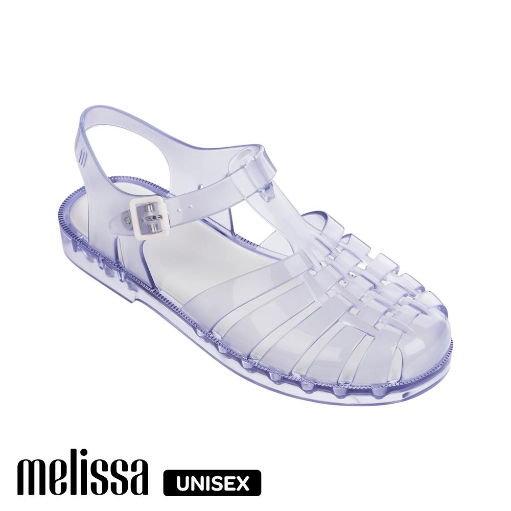 Melissa 經典漁夫厚底鞋(成人款)-白
