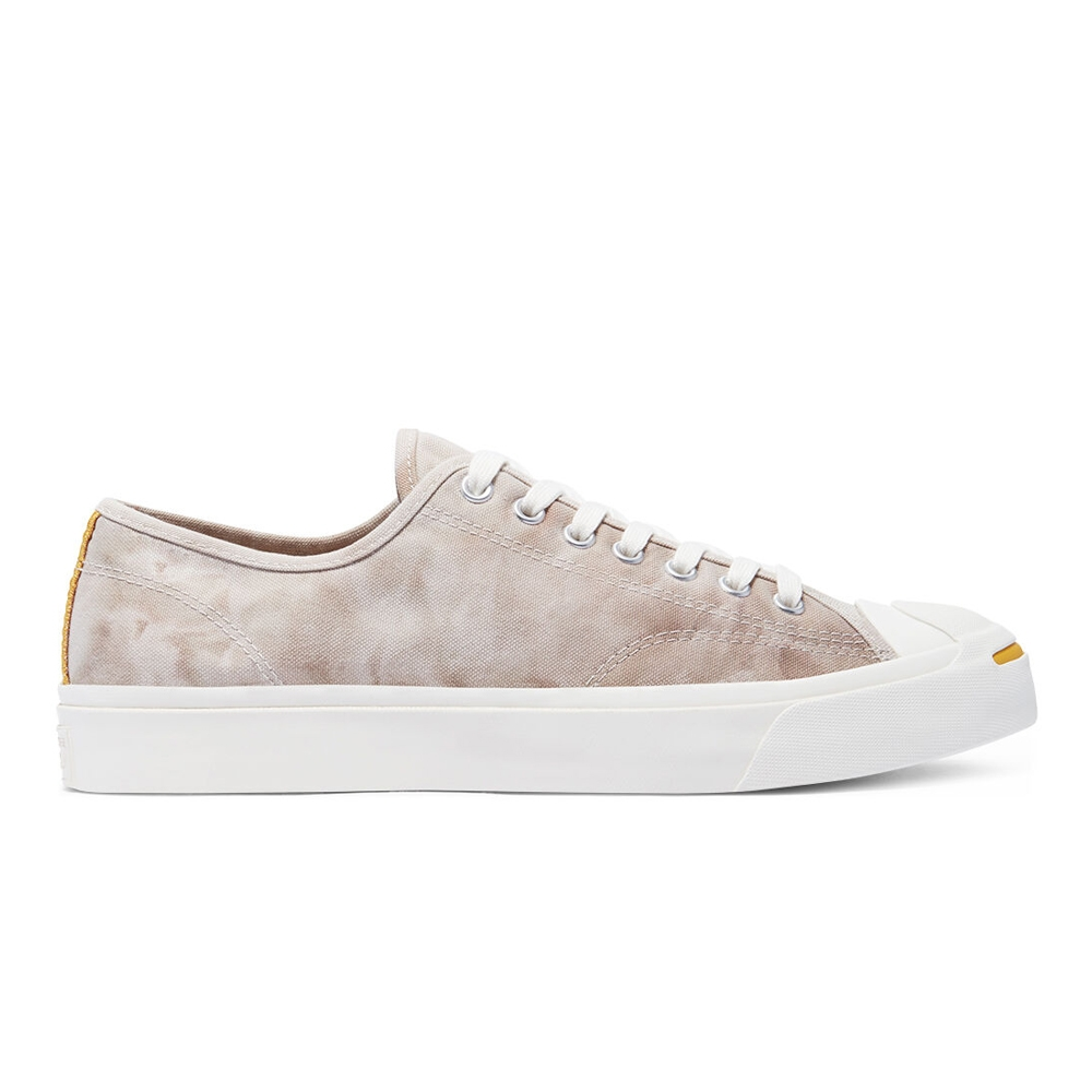 CONVERSE JACK PURCELL OX 低筒 男女 休閒鞋 渲染 水洗感 卡其米色 170937C