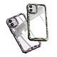 iPhone 12 迷彩 透明 壓克力 手機 保護殼 四邊 防摔 軟邊 手機殼 綠色迷彩 (iPhone12手機殼 iPhone12保護殼 ) product thumbnail 1