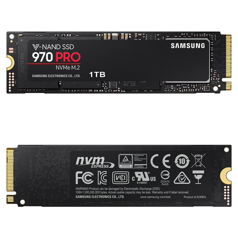 Samsung 970 PRO 1TB SSD固態硬碟