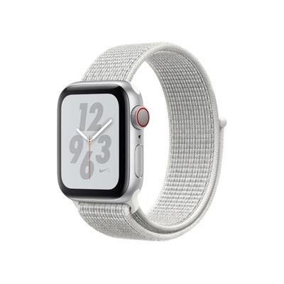Apple Watch Nike+ S4 (GPS+網路) 40mm 銀色鋁金屬錶殼+白色運動型錶環