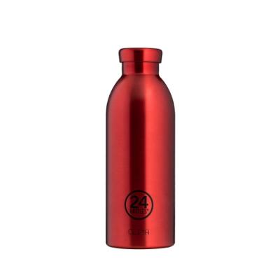 義大利 24Bottles 不鏽鋼雙層 保溫瓶 500ml - 金紅