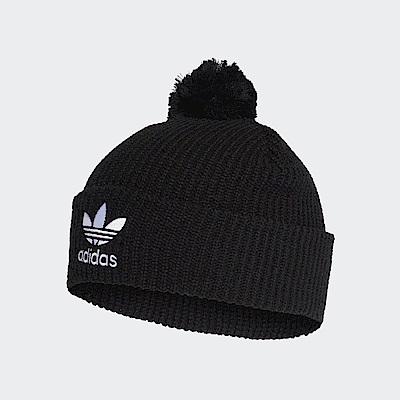 adidas 毛帽 Pompom Beanie 男女款