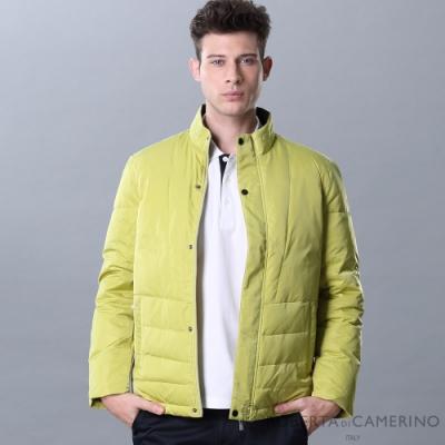 ROBERTA諾貝達 禦寒必備 保暖休閒羽絨夾克外套 黃綠