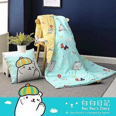 鴻宇HongYew 美國棉 白白日記 歡樂派對時光 精梳棉涼被 台灣製 @ Y!購物