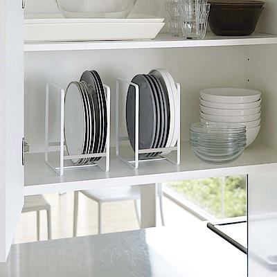 日本YAMAZAKI-Plate日系框型盤架-L★碗盤架/置物架/保鮮盒蓋收納