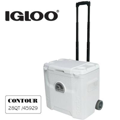 Igloo MARINE UL系列三日鮮28QT拉桿冰桶45929