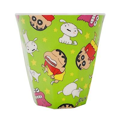 【蠟筆小新】正版授權 美耐皿 兒童水杯 鱷魚餅乾 綠色