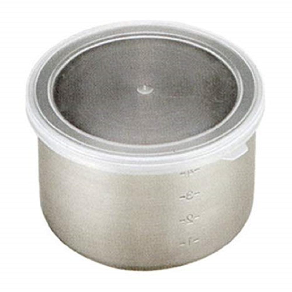 日本製 AIZAWA/相澤工房 透明蓋不鏽鋼圓型保存盒 450cc
