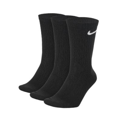 NIKE 襪子 中筒襪 訓練 運動襪 9雙組 黑 SX7676010  U NK EVERYDAY LTWT CREW 3PR