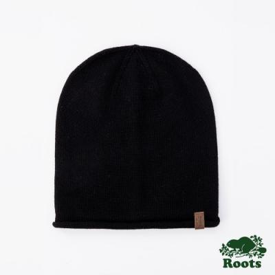 ROOTS 配件- 羅布森針織帽-黑