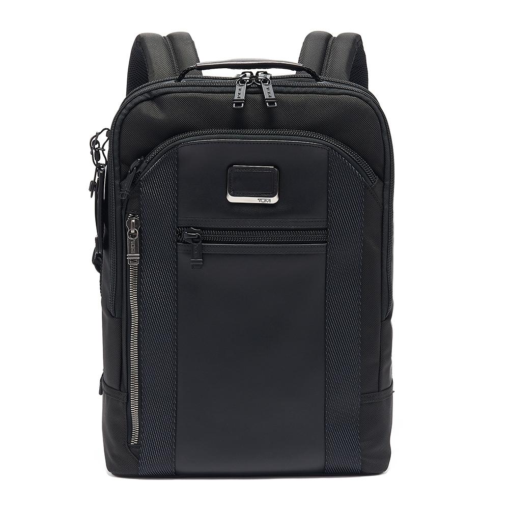 TUMI DAVIS 後背包-黑色(適用於15吋筆電)