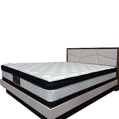 Albert 艾柏 正四線抗菌涼感6尺雙人加大乳膠獨立筒床墊-180x188x32cm免組