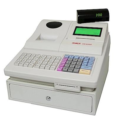 ANICE 熱感式全中文智慧型收據收銀機 AM-6600