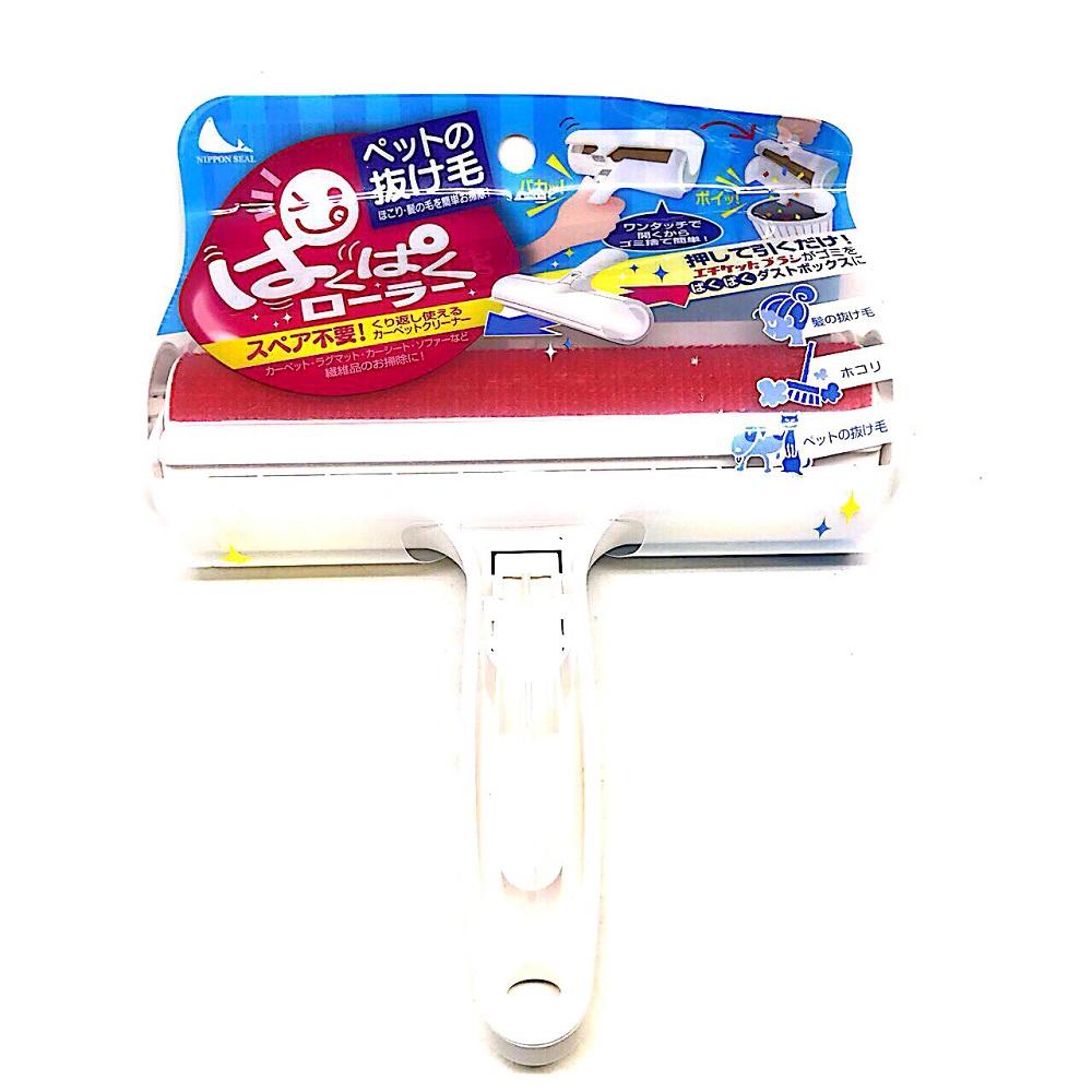 日本 Nippon Seal 免耗材強力清潔滾輪 N76 象牙白