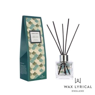英國 Wax Lyrical 大地系列擴香瓶-綠茶佛手柑 Green Tea & Bergamot 100ml