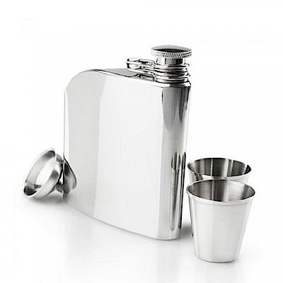 GSI GLACIER STAINLESS TRAD FLASK SET 經典不鏽鋼酒壺