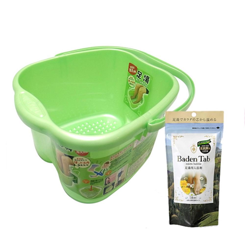 日本紀陽溫泉泡腳碇 重碳酸足湯專用+日製泡腳桶