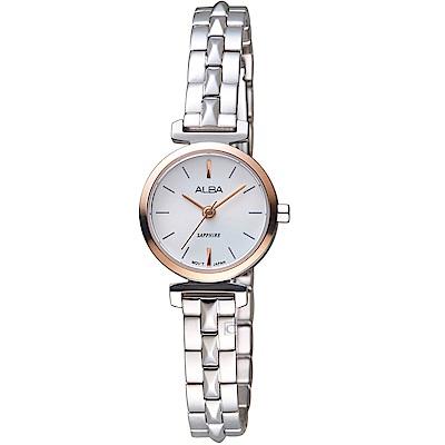 ALBA雅柏簡約小巧時尚腕錶(AK3042X1 VC11-X009KS)