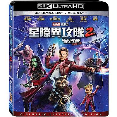 星際異攻隊2 4K UHD+BD 雙碟版 藍光 BD