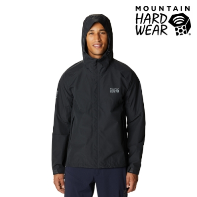 【美國 Mountain Hardwear】Exposure2 Gore-Tex Paclite GTX 防水連帽外套 男款 深風暴灰 #1929851