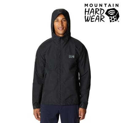 【美國 Mountain Hardwear】Exposure2 Gore-Tex Paclite GTX 防水連帽外套 男款 深風暴灰 #1929851