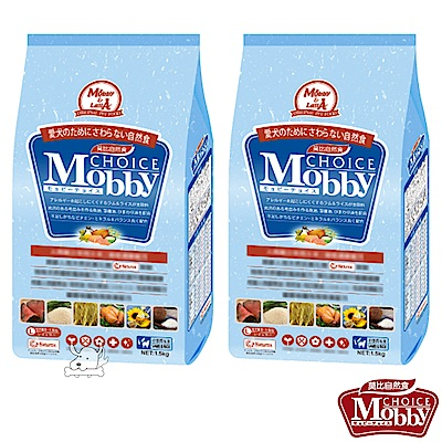 Mobby 莫比 羊肉+米 大型成犬配方飼料 3公斤 X 2包