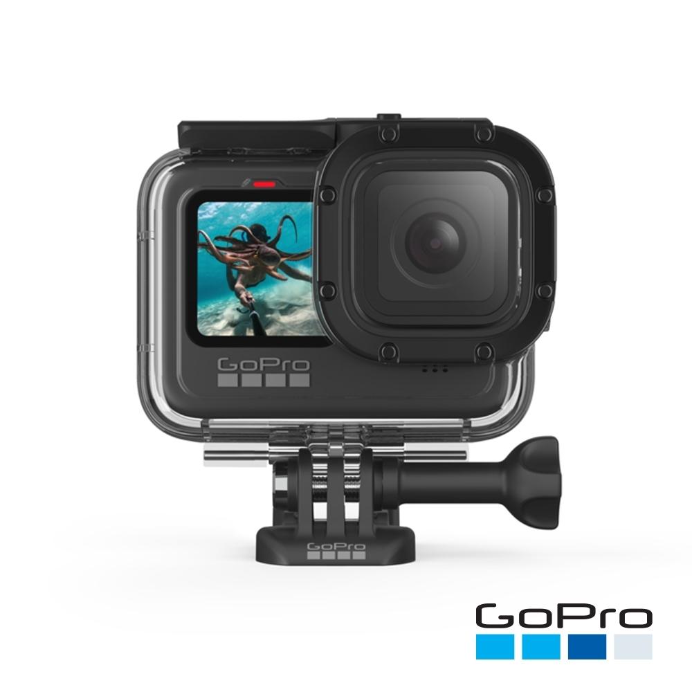 GoPro-HERO9 Black專用超強防護層+潛水保護殼ADDIV-001