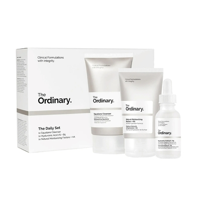 The Ordinary Daily Set 保濕彈力護膚3件套組 110ml