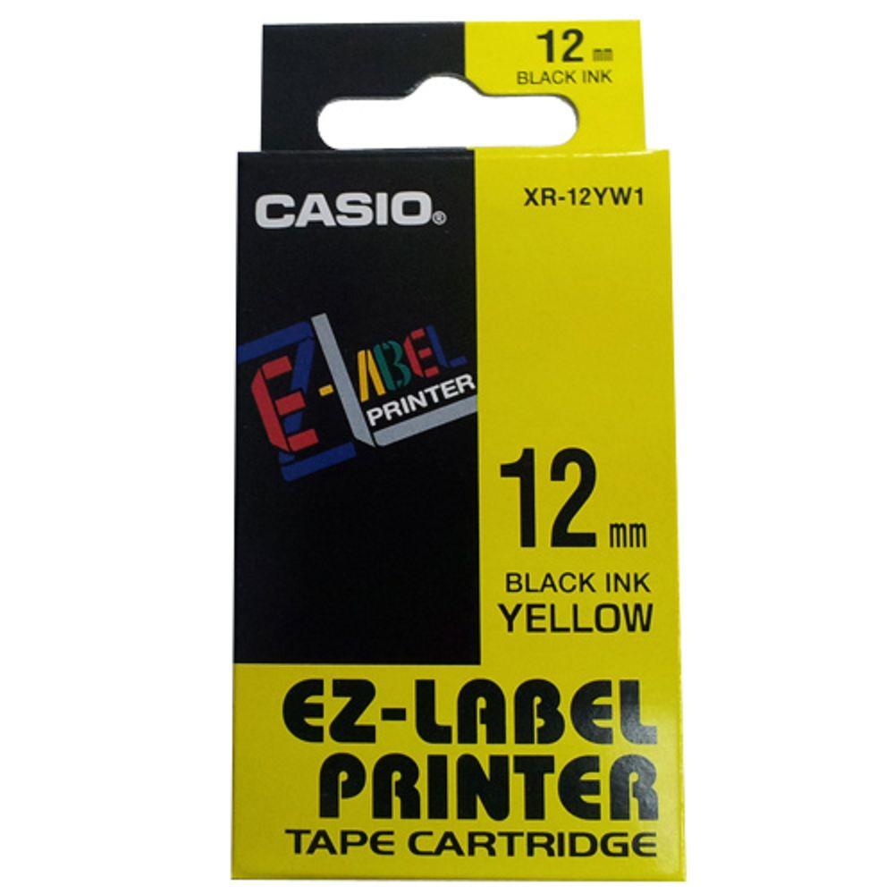 (團購5捲) CASIO 12mm標籤機色帶共9色-(另可任選顏色)