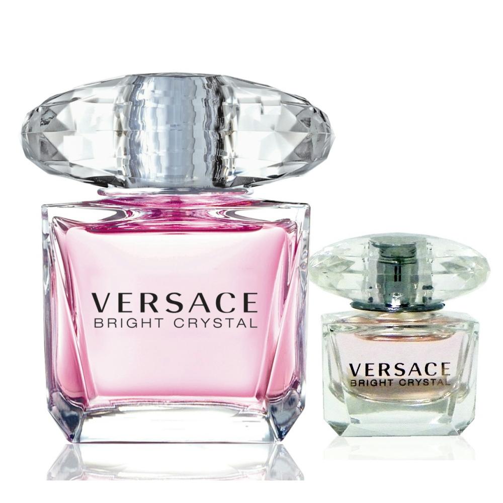 Versace Bright Crystal 香戀水晶淡香水 90ml 搭贈小香水 4ml