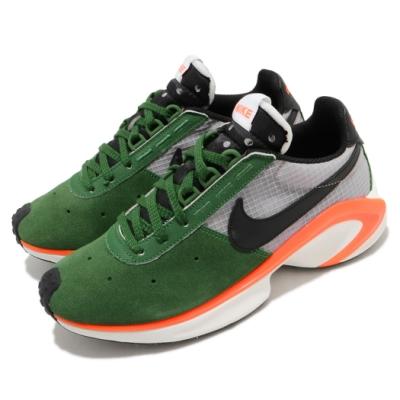 Nike 休閒鞋 D MS X Waffle 運動 男鞋 舒適 簡約 麂皮 球鞋 穿搭 綠 灰 CQ0205300