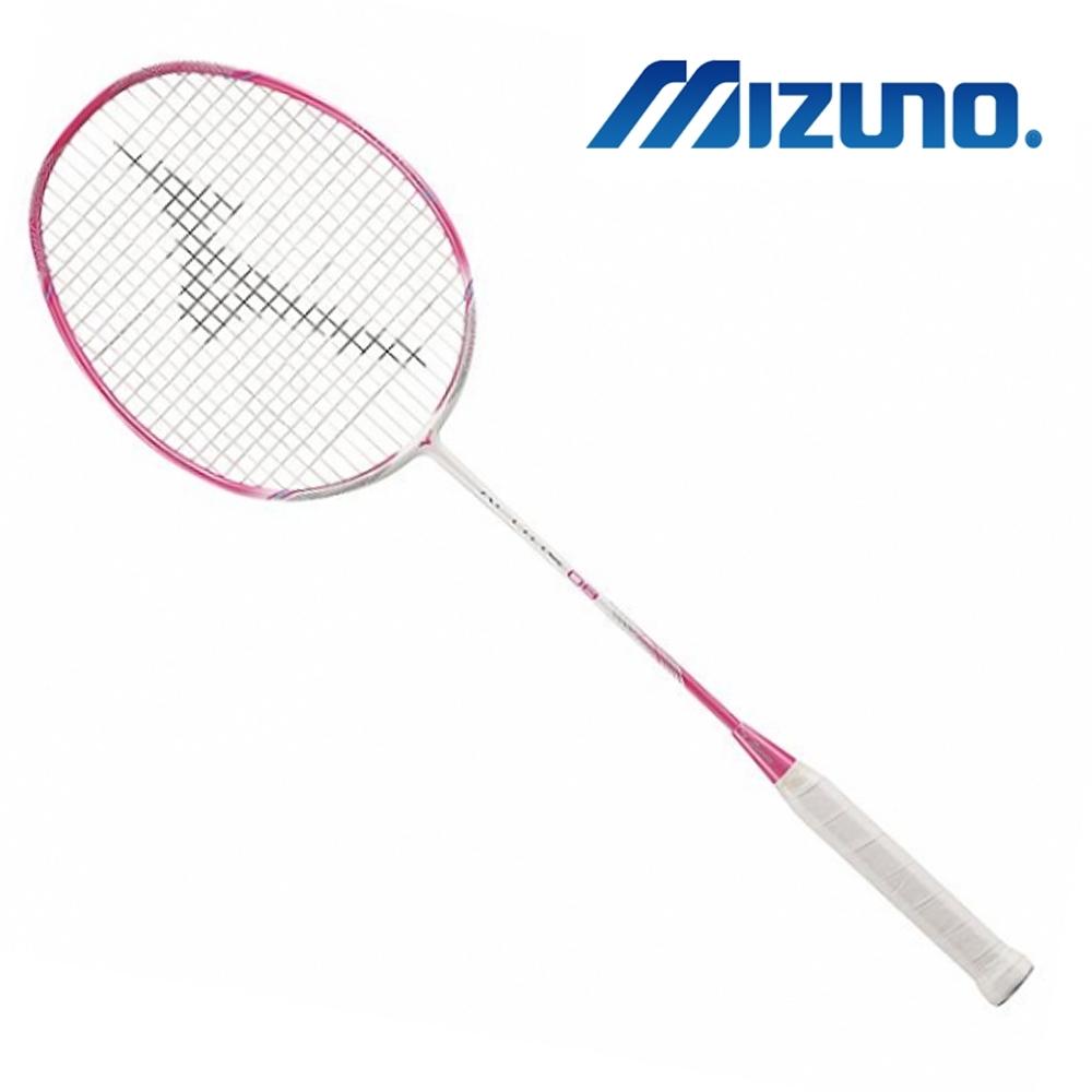 Mizuno 美津濃 ALTIUS 08 羽球拍 白x粉紅 73JTB08064