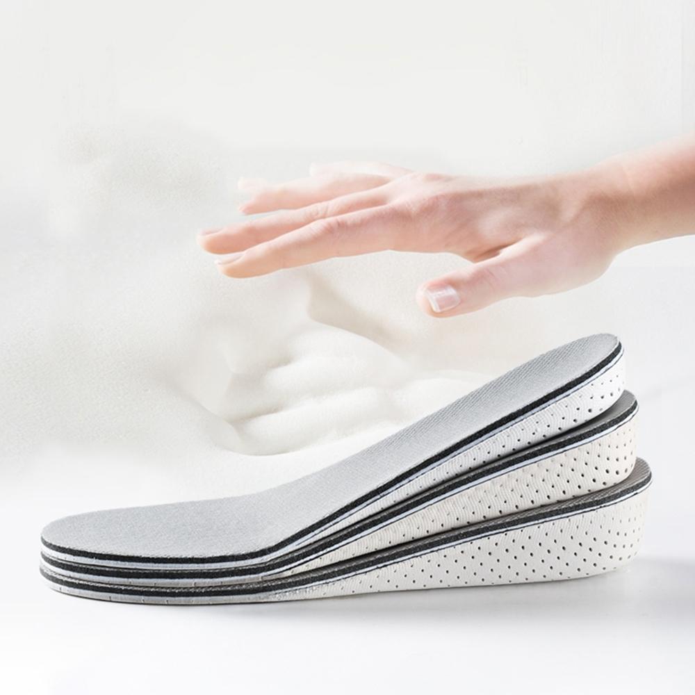 Cap 透氣記憶棉隱形增高鞋墊(全墊)