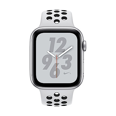 Apple Watch Nike+ S4(GPS)44mm 銀色鋁金屬錶殼+白色錶帶