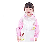 baby童衣 兒童雨衣加厚有書包位雨衣 88074