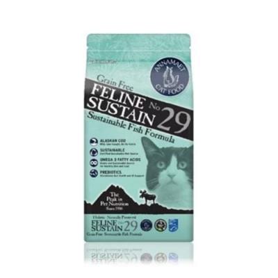 美國Annamaet安娜美廚[29號-腸胃保健配方] 阿拉斯加鱈魚 貓食 12LB/<b>5</b>.44KG(贈咖啡卷*<b>1</b>張)