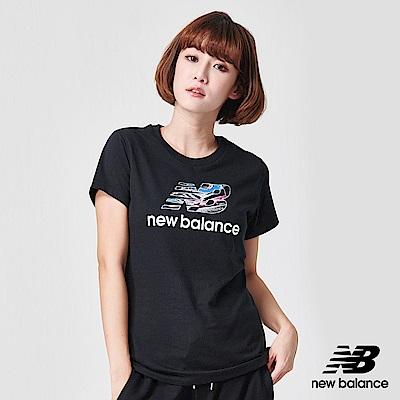 New Balance 短袖T恤_AWT91554BK_女性_黑