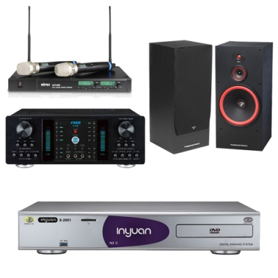 音圓N2C+FNSD A-350+ACT-880+SL-15(伴唱機 4TB+卡拉OK套組)