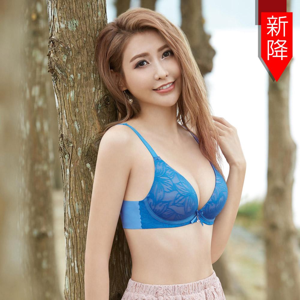 瑪登瑪朵 身呼吸內衣  B-F罩杯(清雅藍)