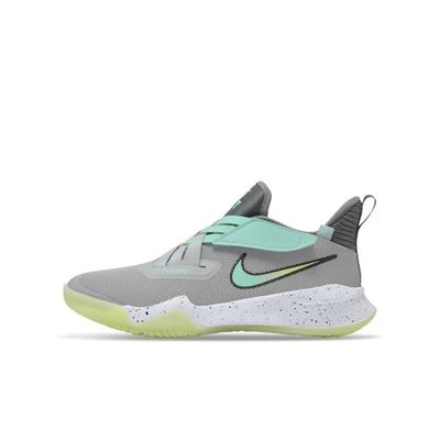 Nike Zoom Flight 2 (GS)男女大童休籃球鞋-灰-DB6708001