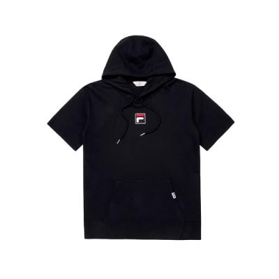 FILA #日潮攻略首部曲 短袖圓領T恤-黑色 1TEU-1414-BK